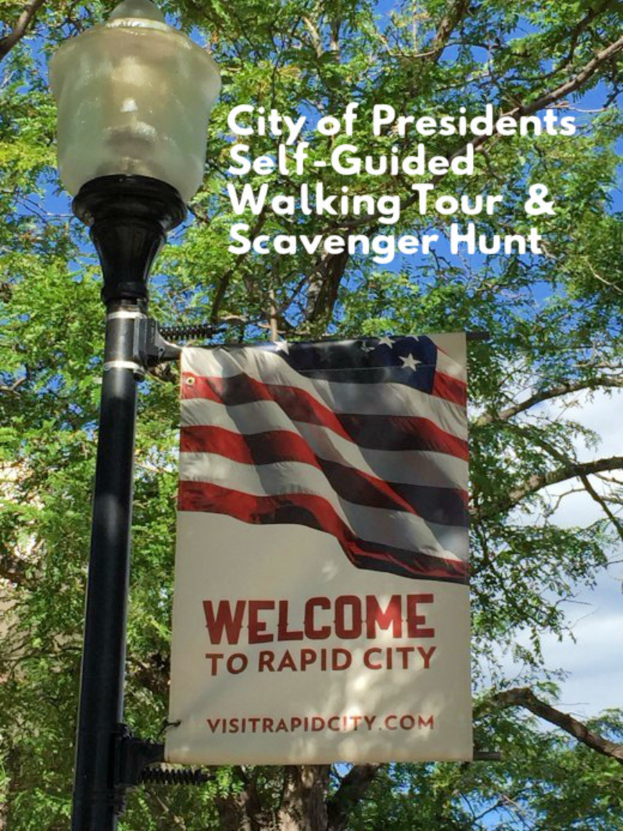 Come explore the City of Presidents with your family. Visit the life-sized bronze statues on street corners and enjoy the fun scavenger hunt.