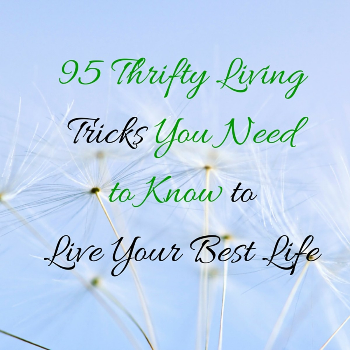 95 Thrifty Living Tricks You Need to Know