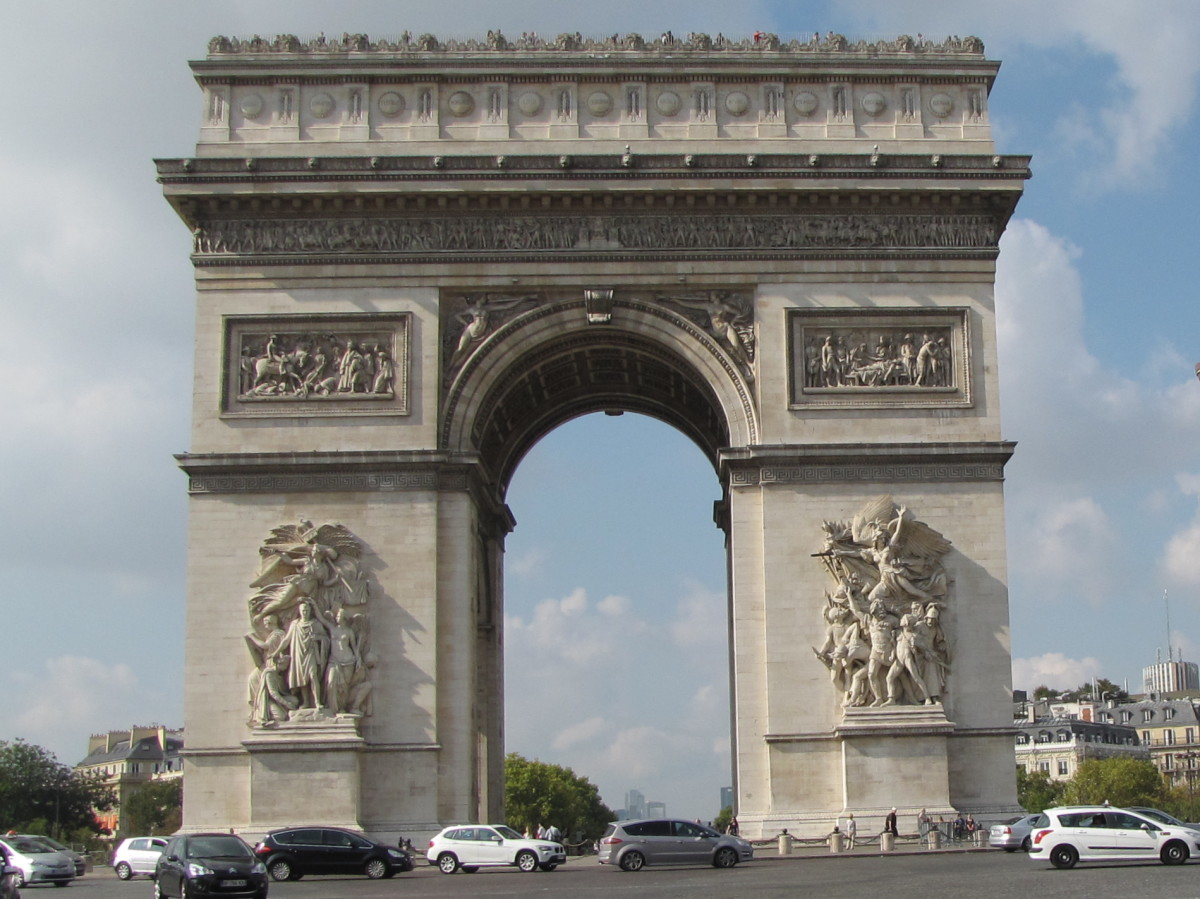 Visiting the Arc de Triomphe - Paris, France