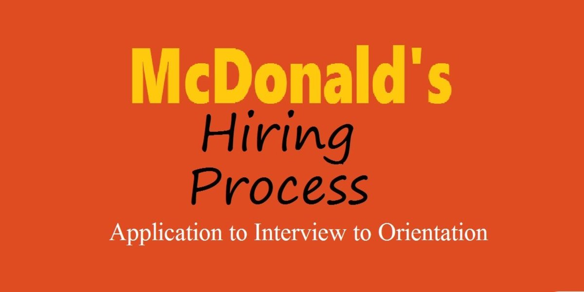 The Hiring Process at McDonald's: From Application to Interview to Orientation