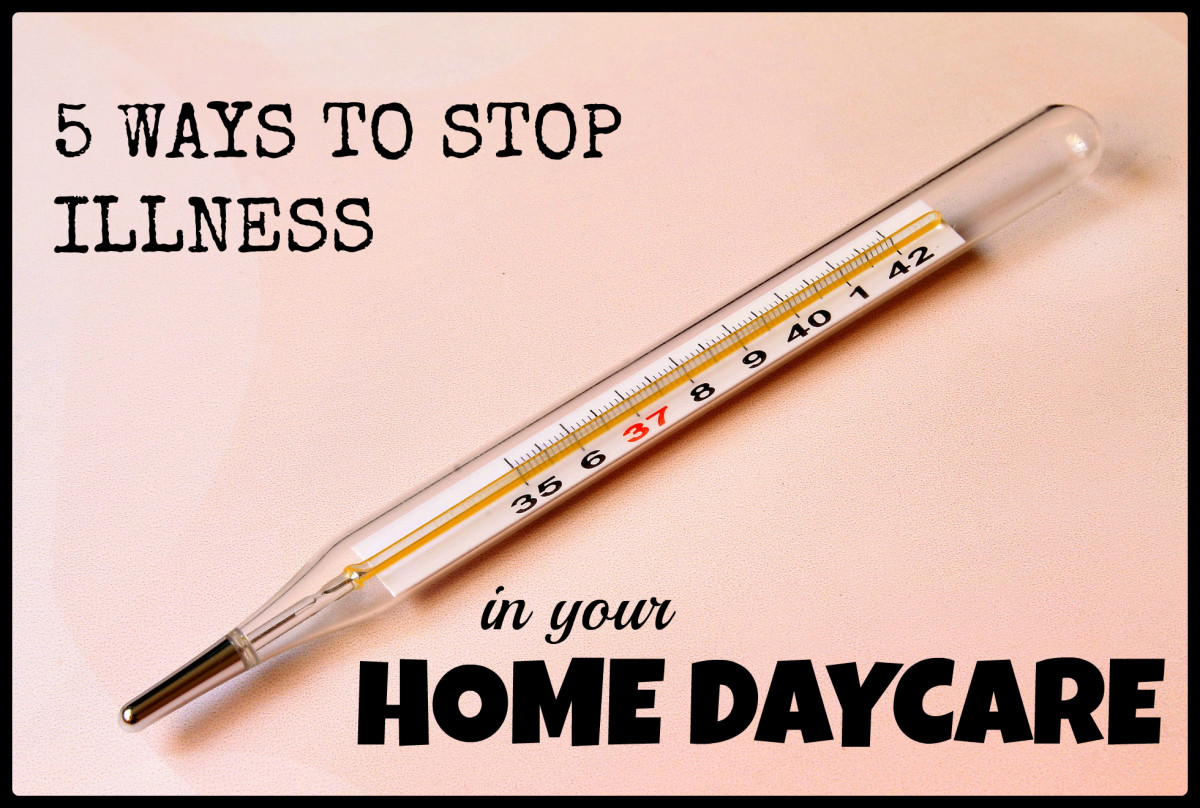 5 Ways to Stop Illness in Your Home Daycare