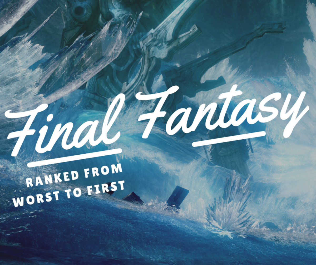 "This list counts down the best ""Final Fantasy"" games."