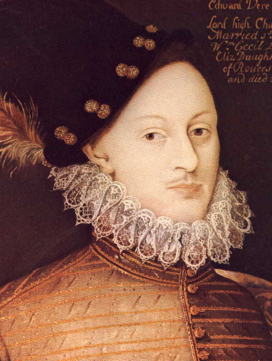 """William Shakespeare"" is the nom de plume of Edward de Vere, 17th Earl of Oxford."