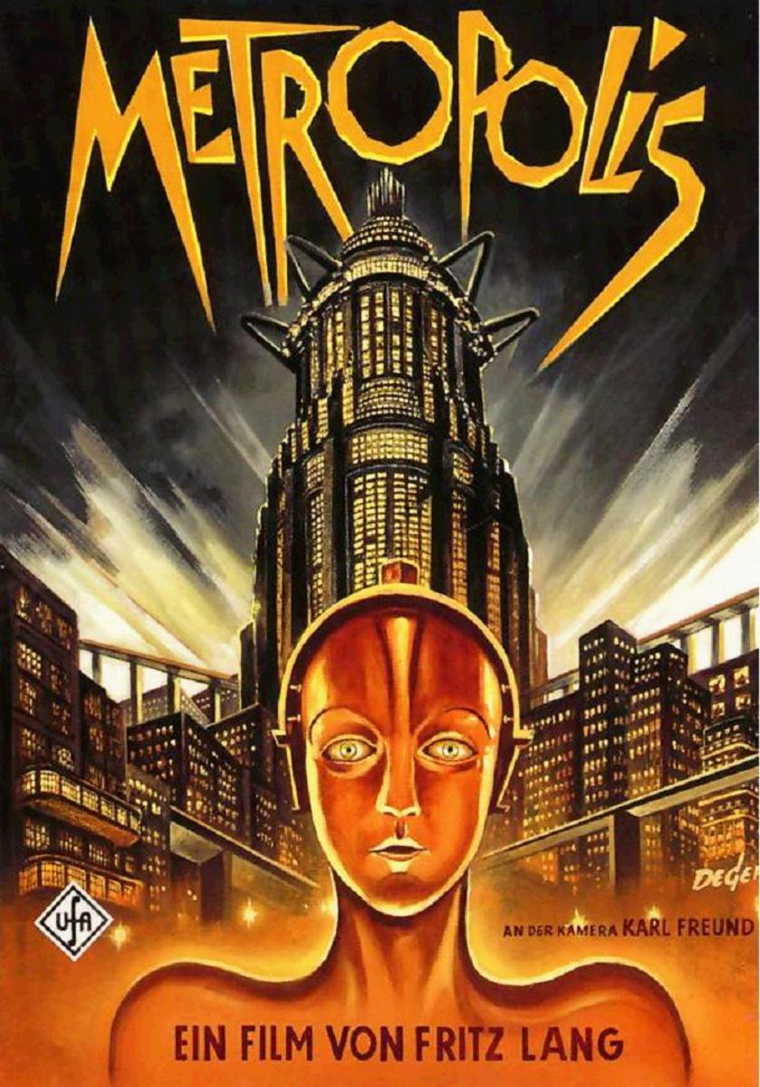 "German poster for ""Metropolis"""