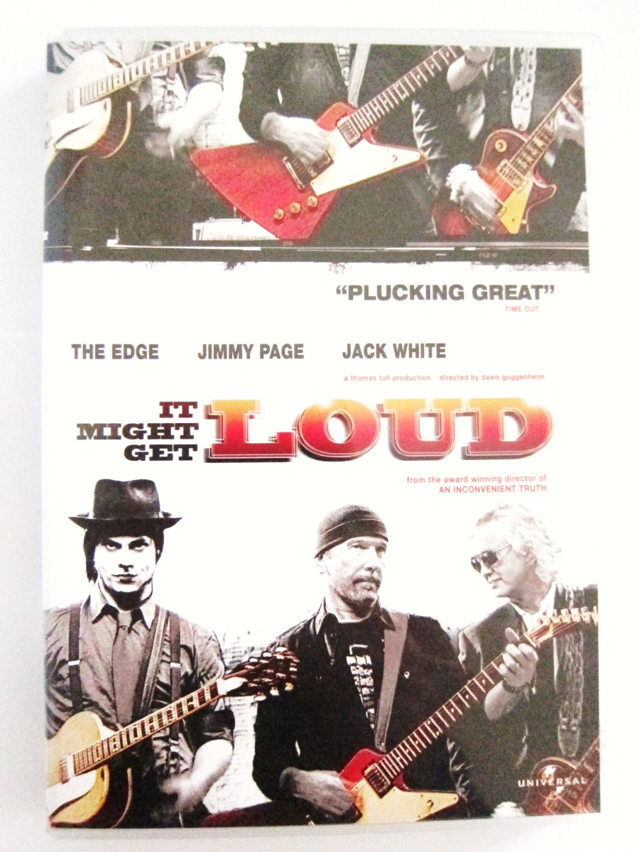"DVD cover for ""It Might Get Loud"""