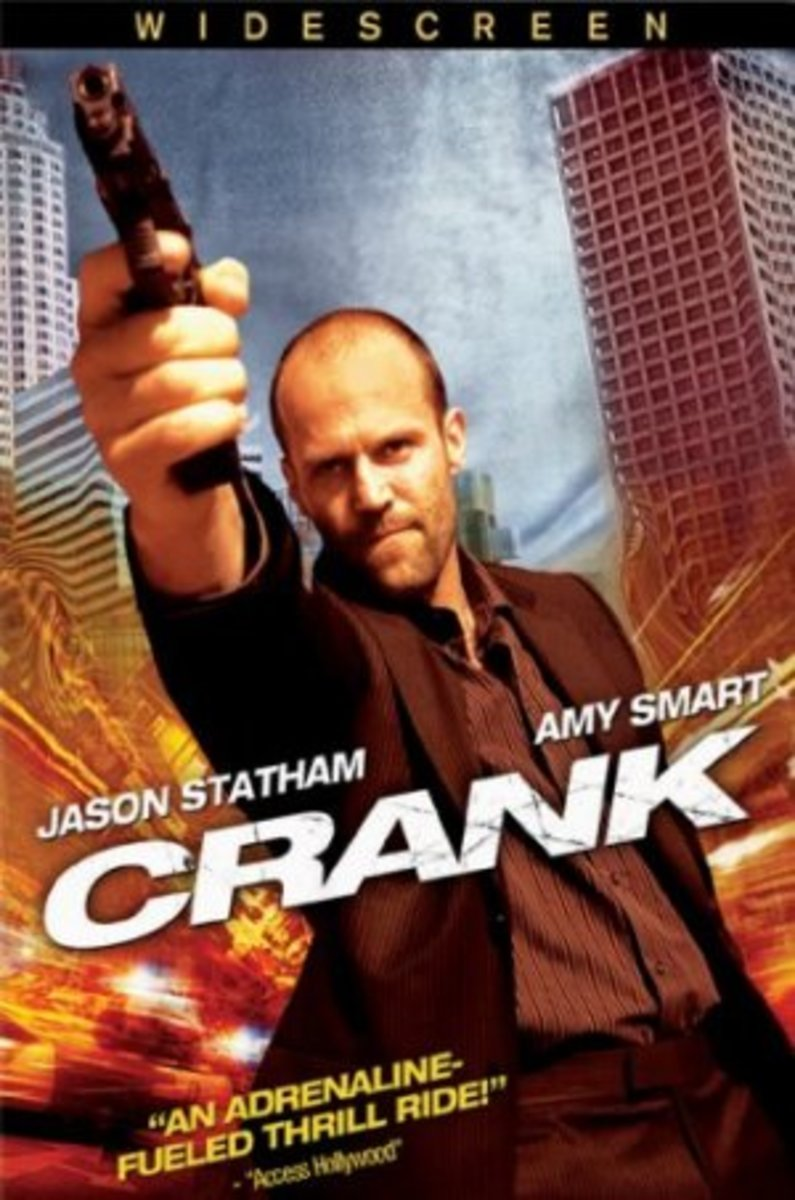 "DVD cover for ""Crank"""