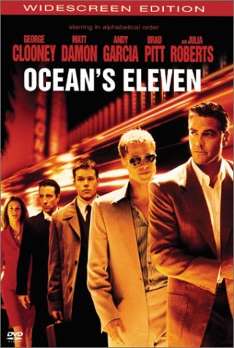 "DVD cover for ""Ocean's Eleven"""