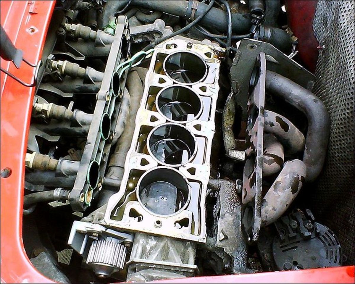 Overheating can destroy your engine block and cylinder head.