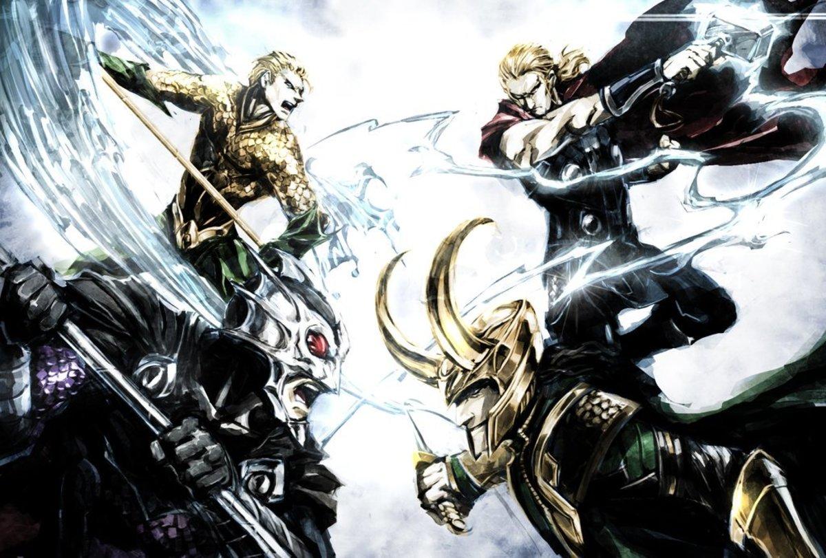 Aquaman and Thor: A Comparison