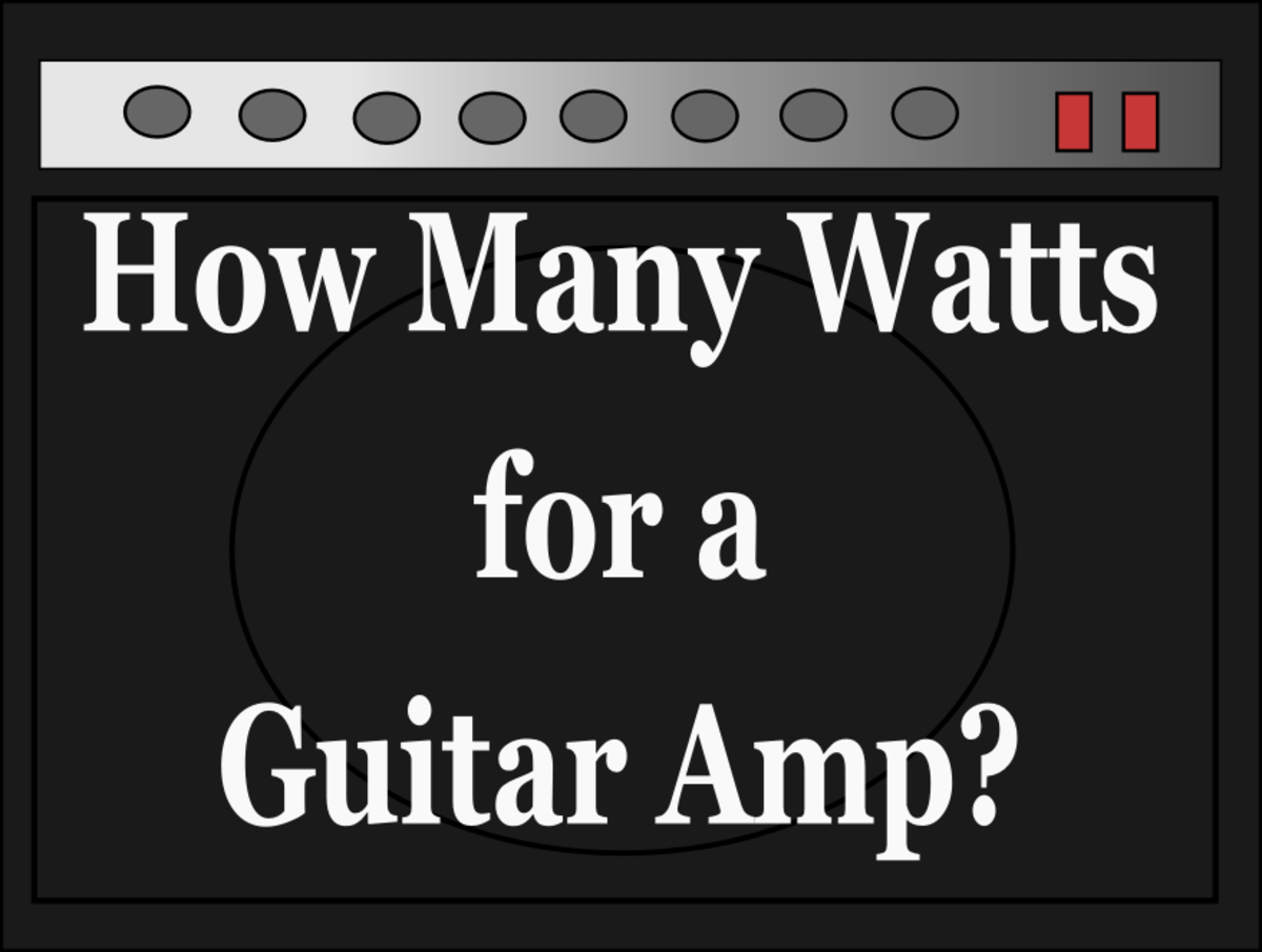 How Many Watts do you Need for a Good Guitar Amp?