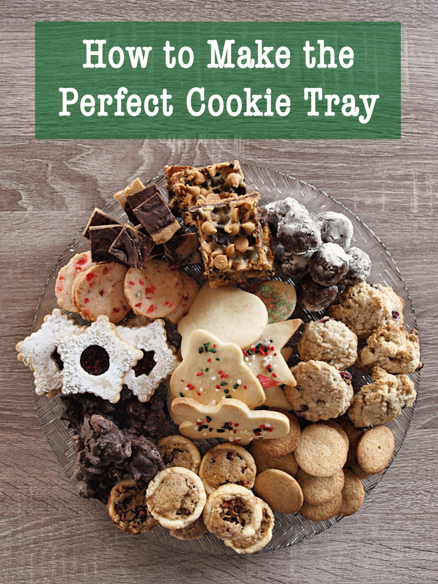 Christmas Platters And Trays.How To Make The Perfect Cookie Tray Delishably