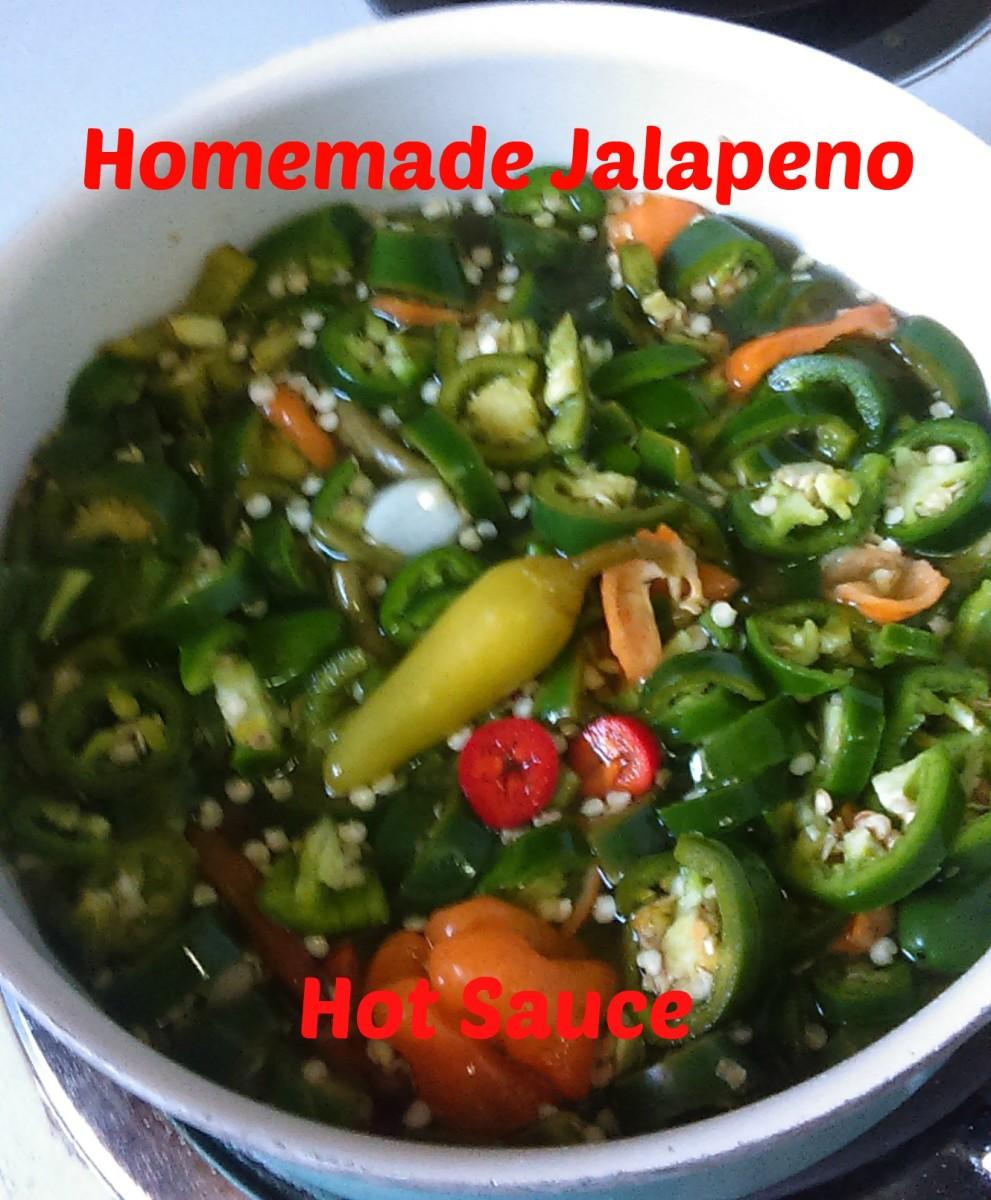 Homemade Jalapeno Hot Sauce With a Kick