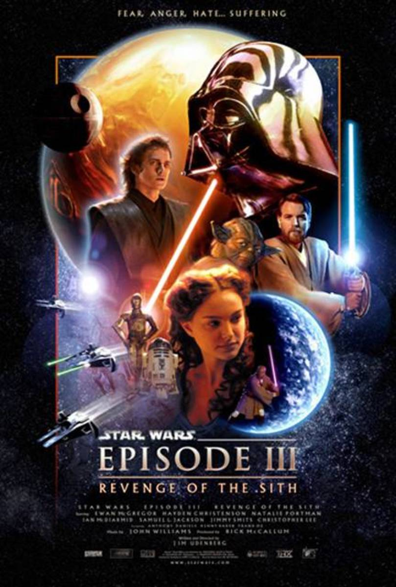 "Poster for ""Star Wars: Episode III - Revenge Of The Sith"""