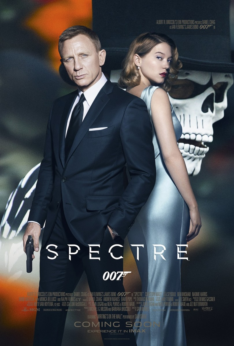 "Promotional poster for ""Spectre"""