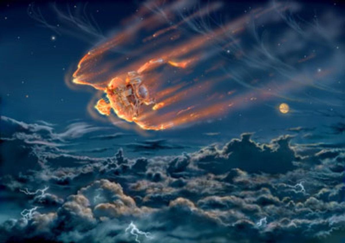 Galileo's Fight and Flight to Jupiter