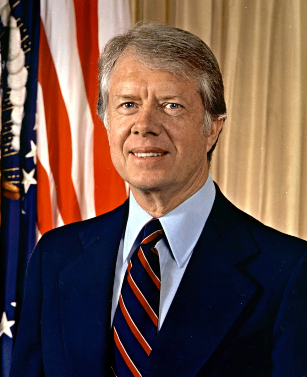Portrait of President Jimmy Carter