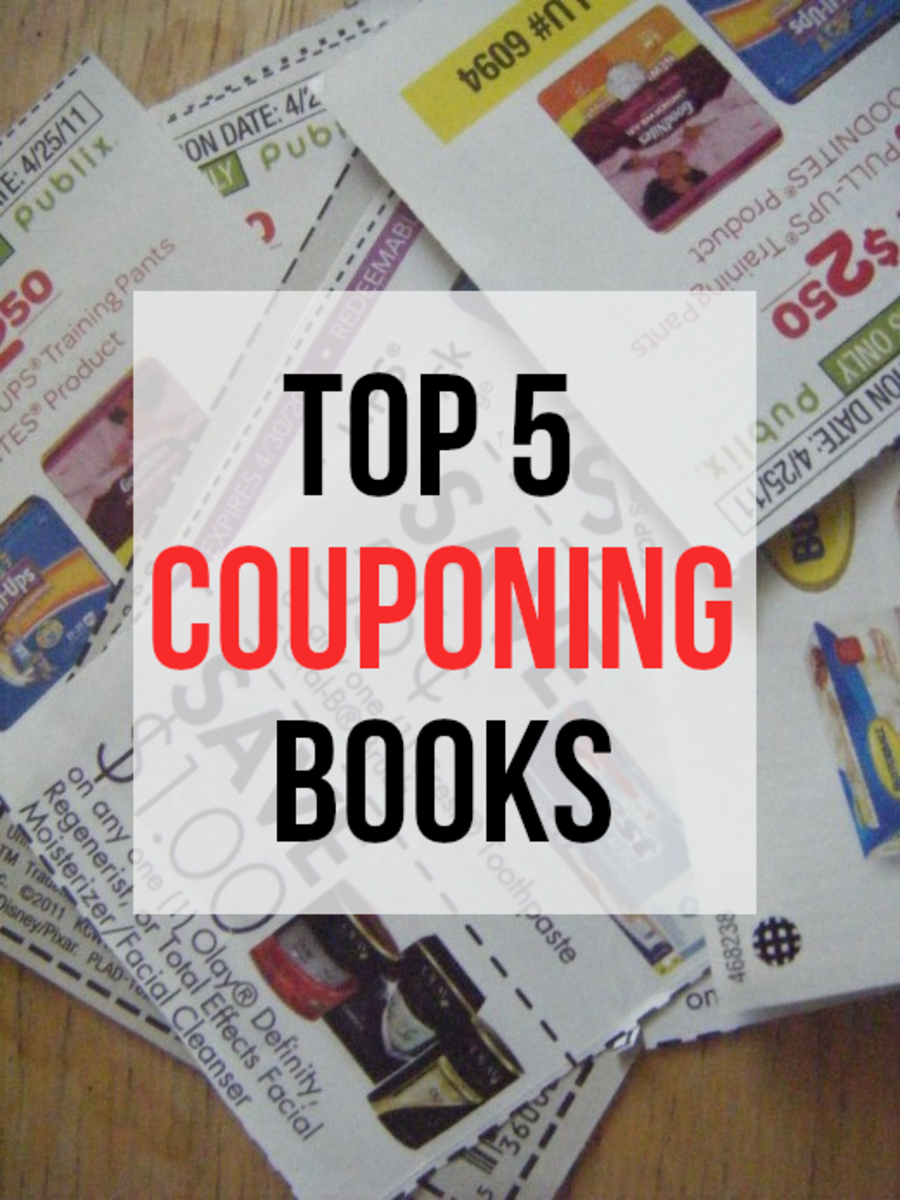 Couponing is more popular than ever, mainly because saving lots of money can be both useful and fun, read on for my list of the best 5 couponing books...
