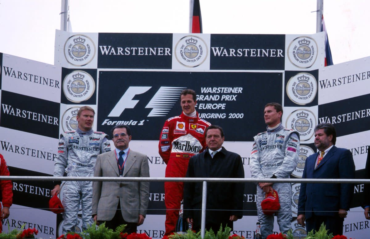 The 2000 European GP: Michael Schumacher's 39th Career Win