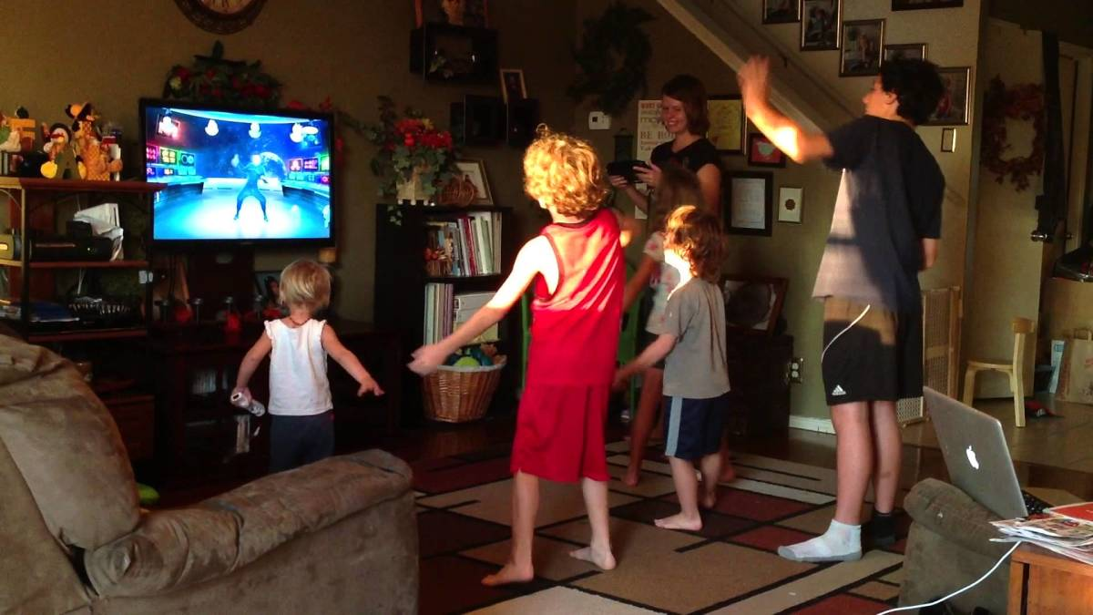 Wii Keeps Kids Busy After School