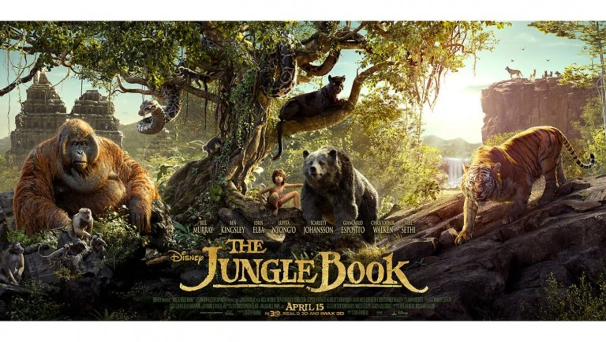 Film poster for The Jungle Book