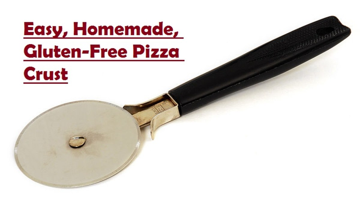 No one will know your pizza crust is gluten-free unless you tell them.