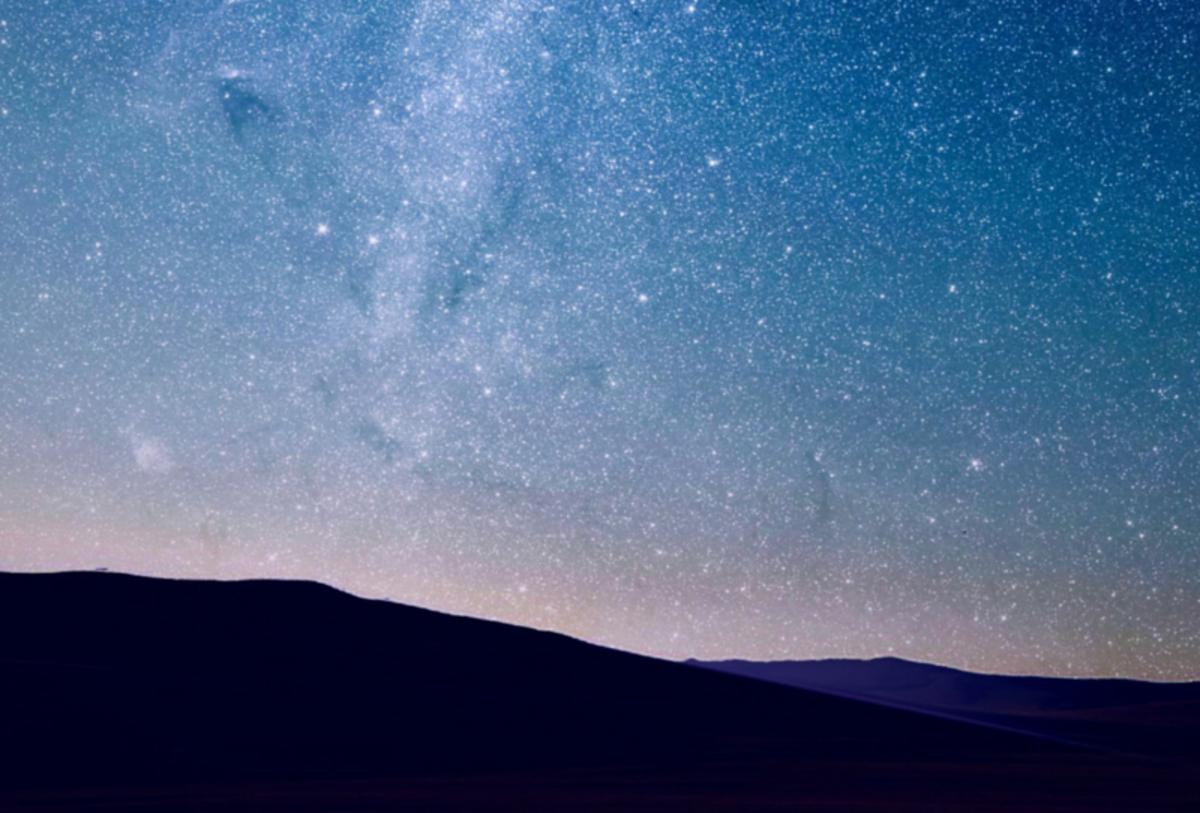 The Night Sky Full Of Stars!