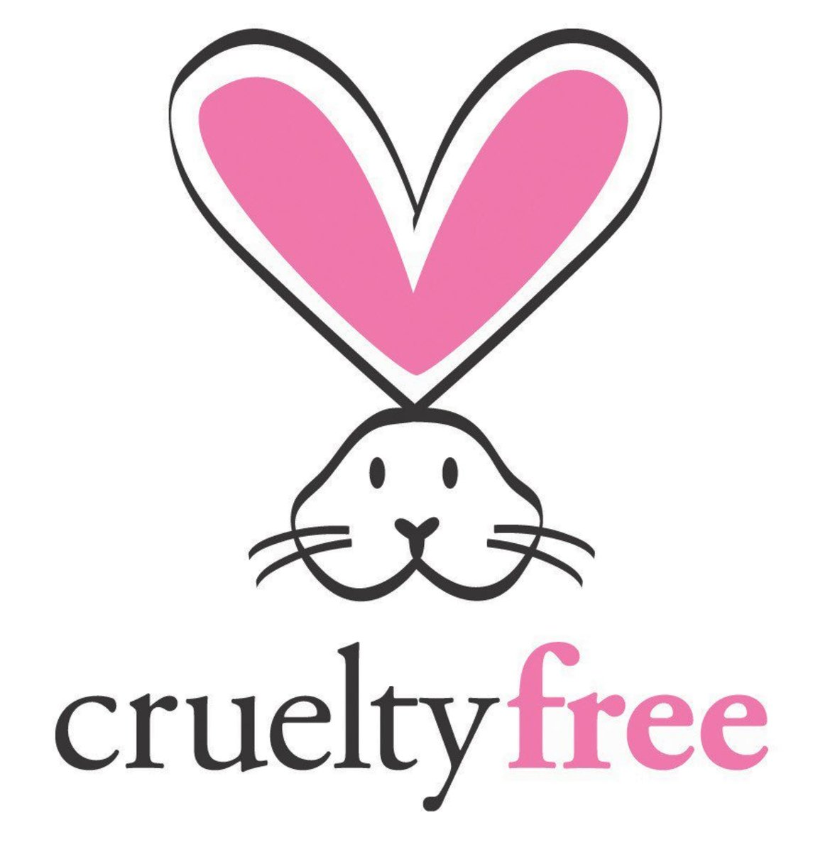 This is one of the labels that appears on cruelty-free beauty product labels.