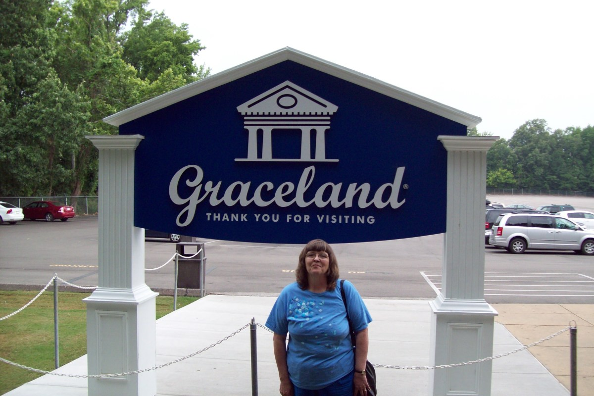 This is me at Graceland.
