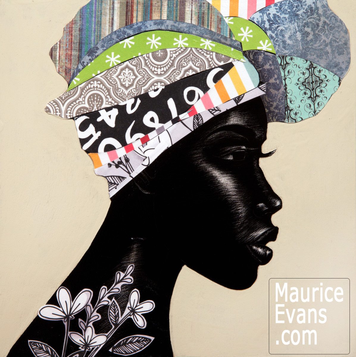 Maurice Evans Celebrates Black Women's Hair in His Series