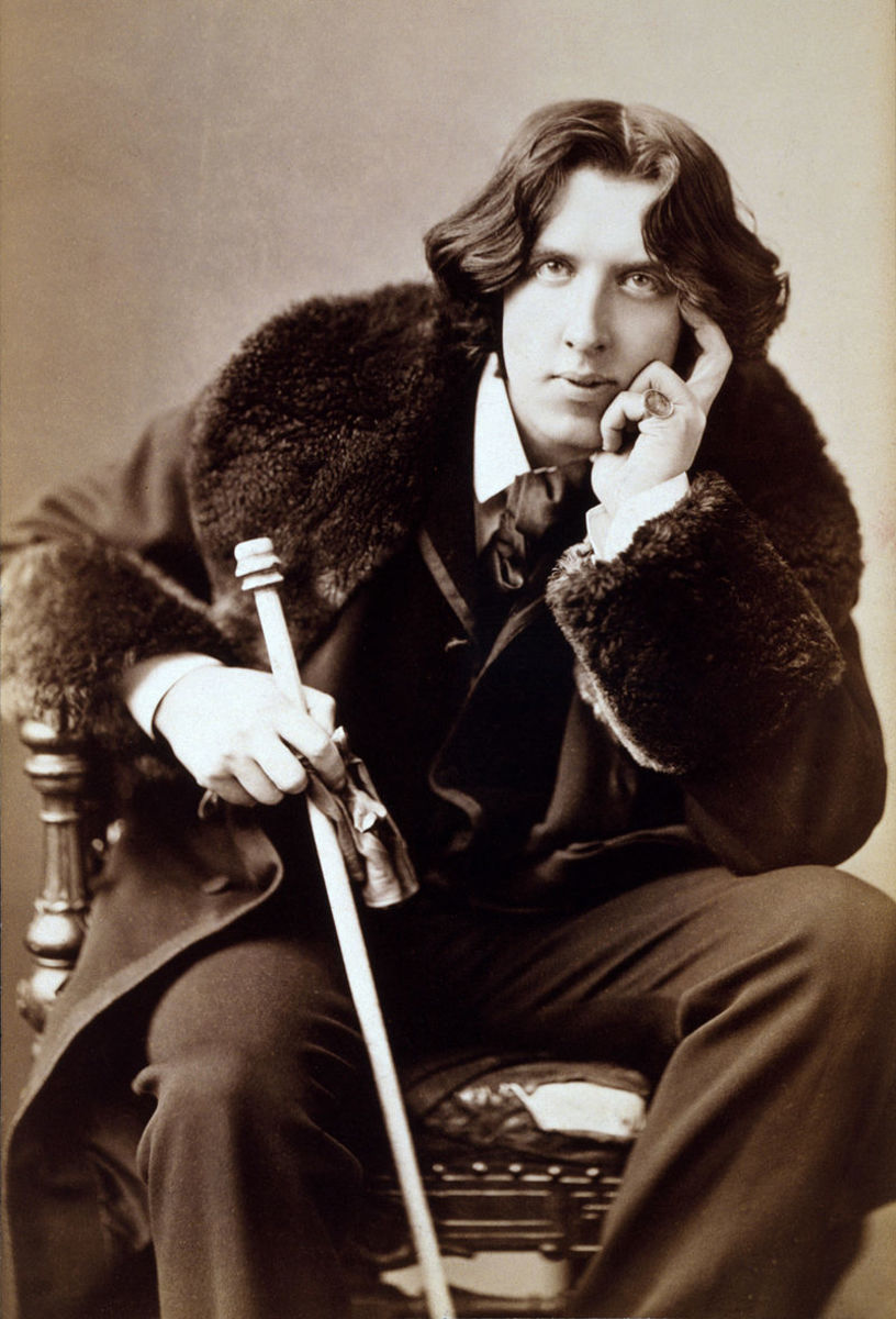 "Oscar Wilde's ""To My Wife"""