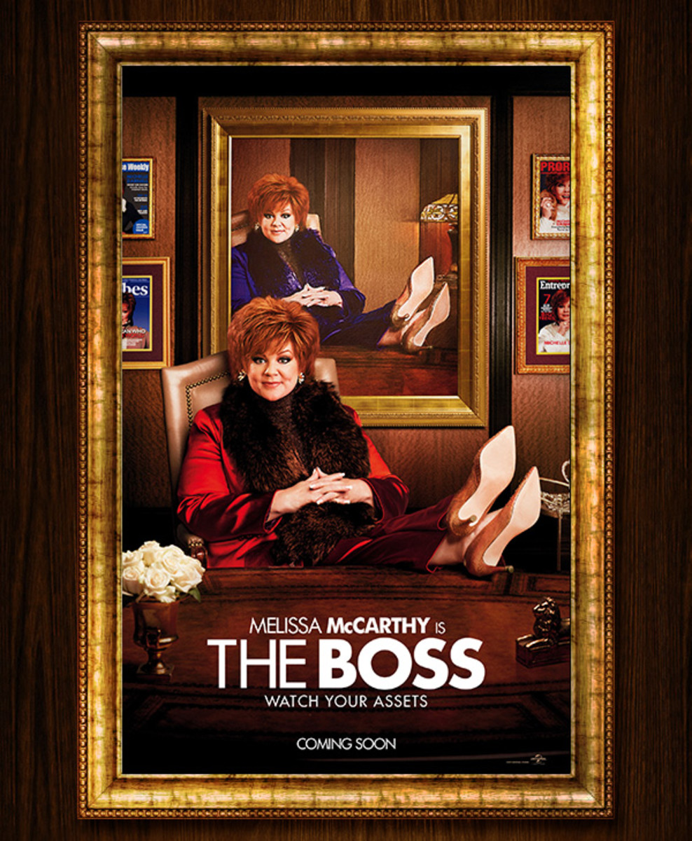 The Boss: movie review