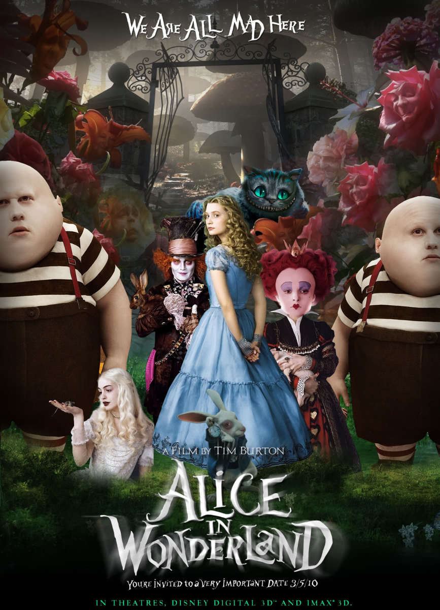 Film Review: Alice in Wonderland (2010)
