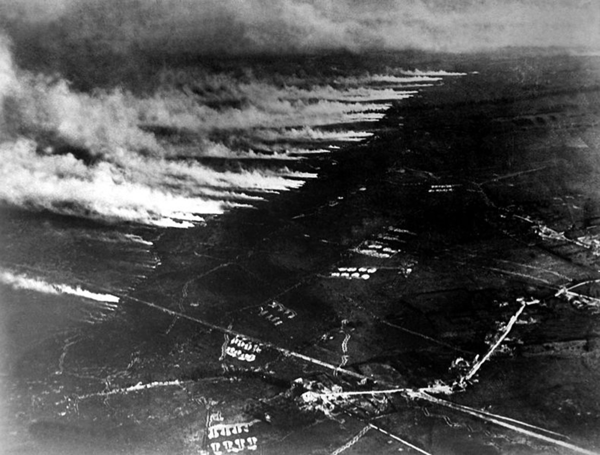 WW1: Poison Gas Attack on the Western Front