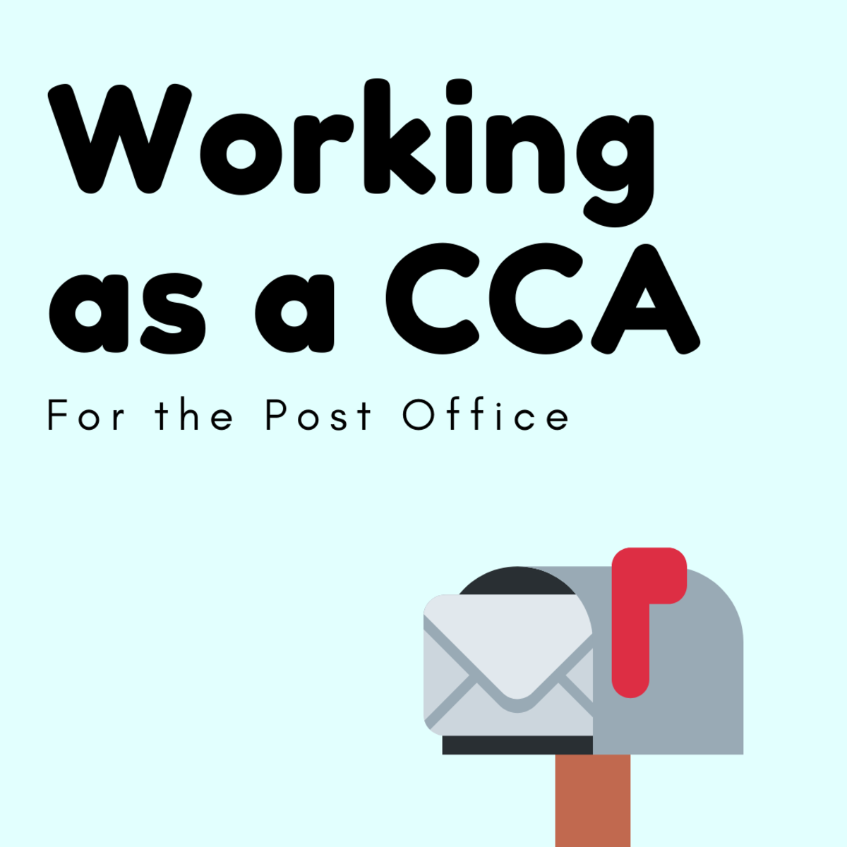 Working as a CCA at the Post Office