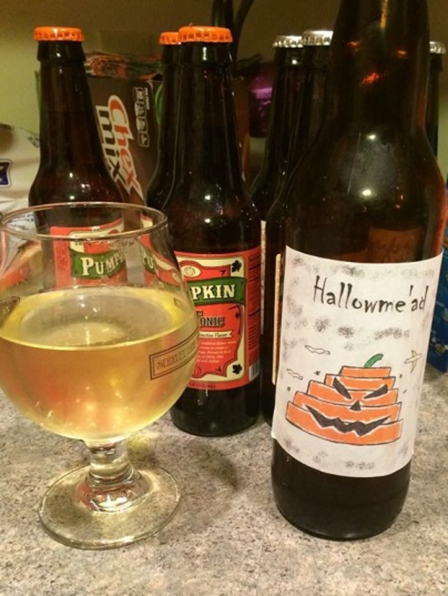 Hallowme'ad – my special Halloween mead