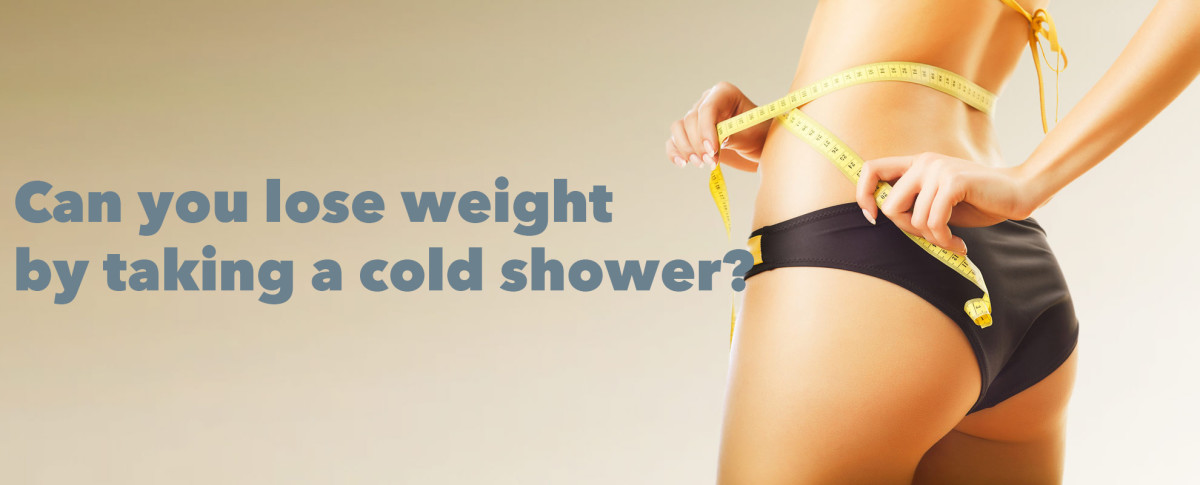 Losing weight through a cold shower might actually be a possibility!