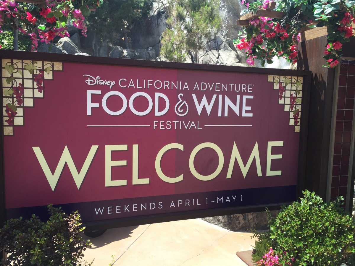 California Adventure's Food And Wine Festival 2016