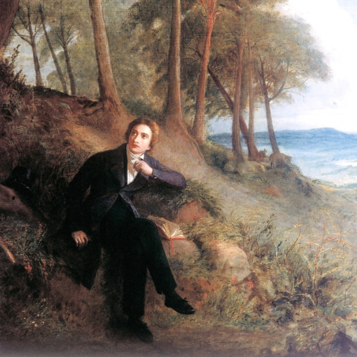 john keats in drear nighted december owlcation
