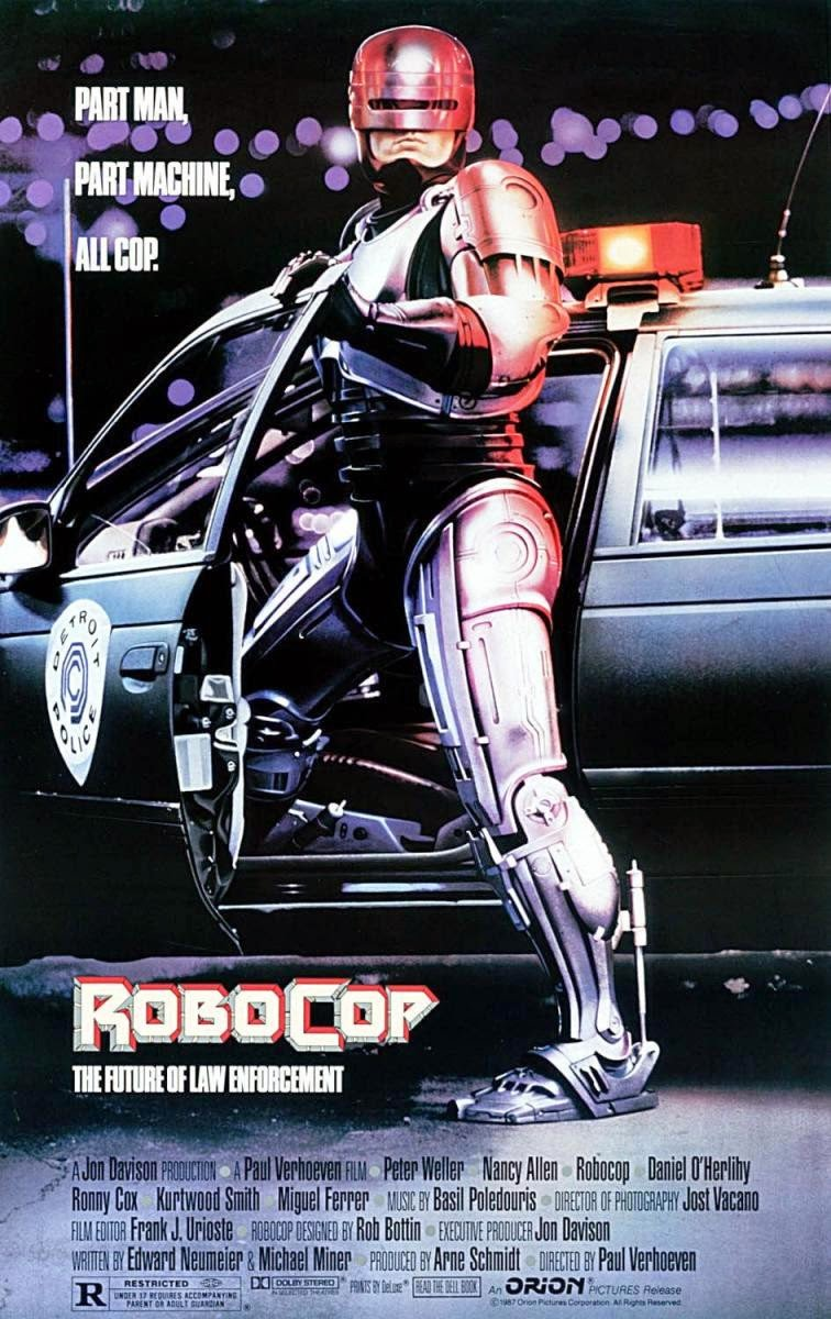 """Poster for 1987's """"Robocop"""""""