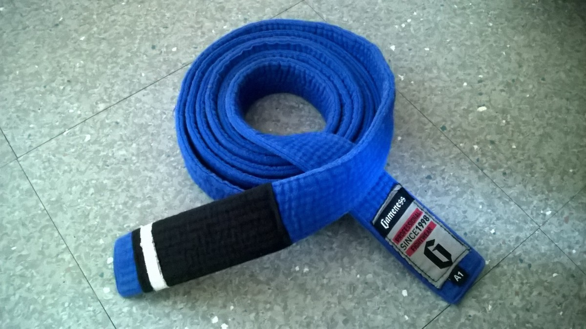 The First Promotion on a Long Journey - BJJ Blue Belt