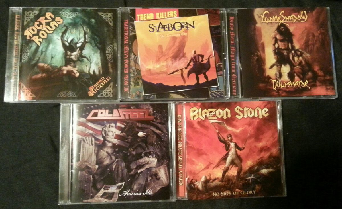 My Stormspell Records haul