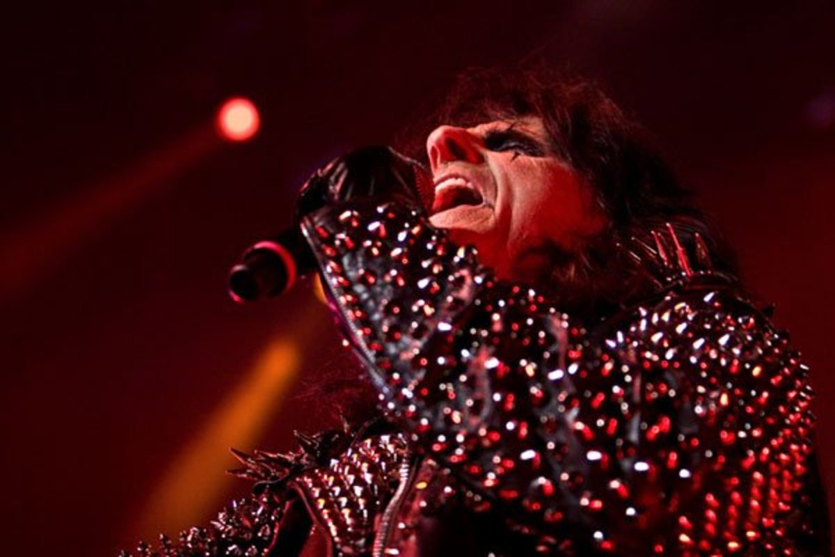 Alice Cooper at Credicard Hall in Sao Paulo June 2011