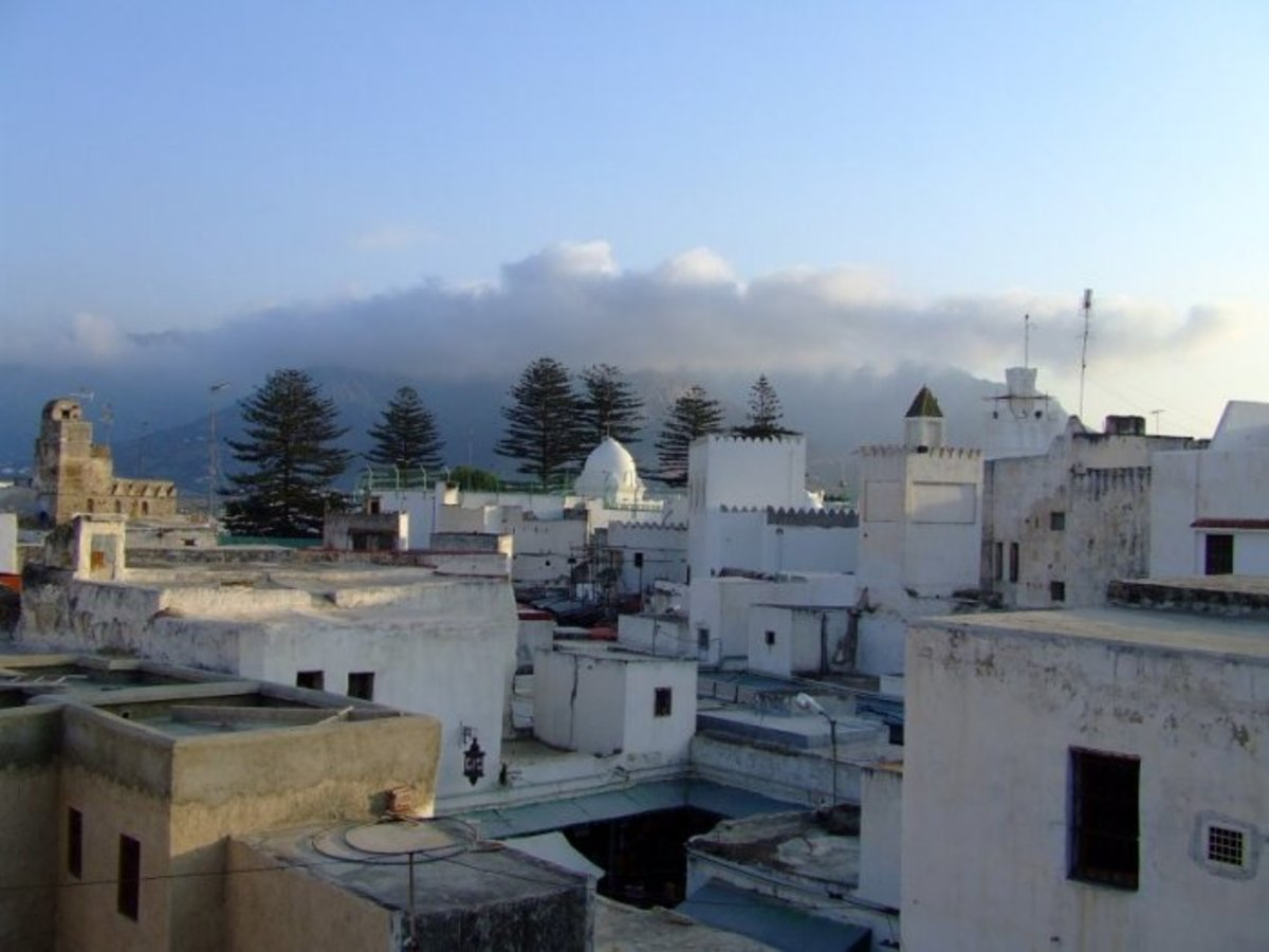 A view over the old part of Tetouan, -  a place unchanged for centuries