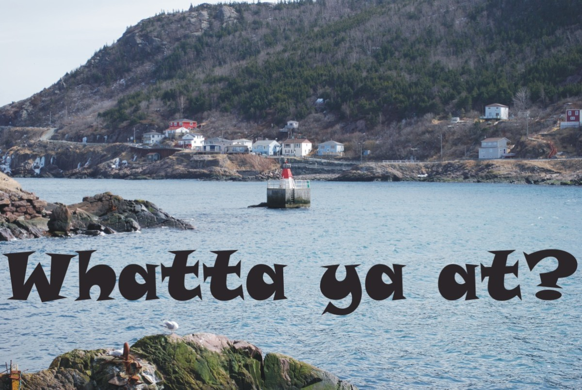 """Newfoundland English"", the colourful collection of dialects known as ""Newfinese"""