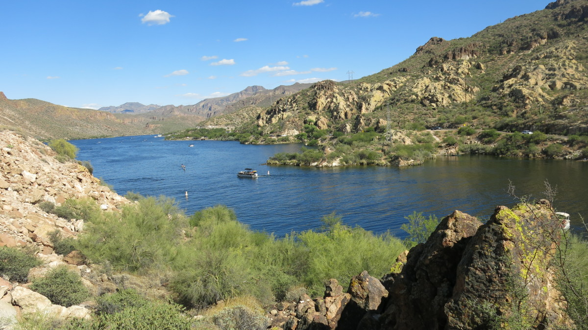 View of Canyon Lake from AZ Hwy 88