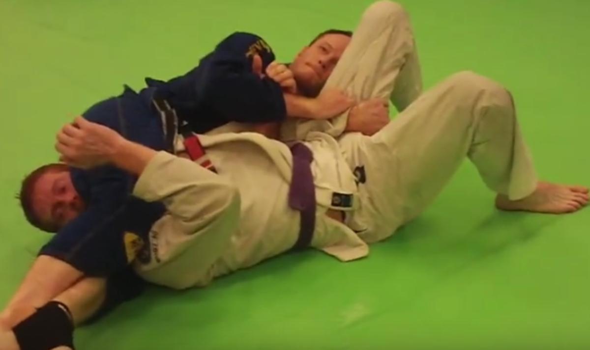 How to Do a Head Scissors (Carlson Gracie Choke) - a BJJ Tutorial