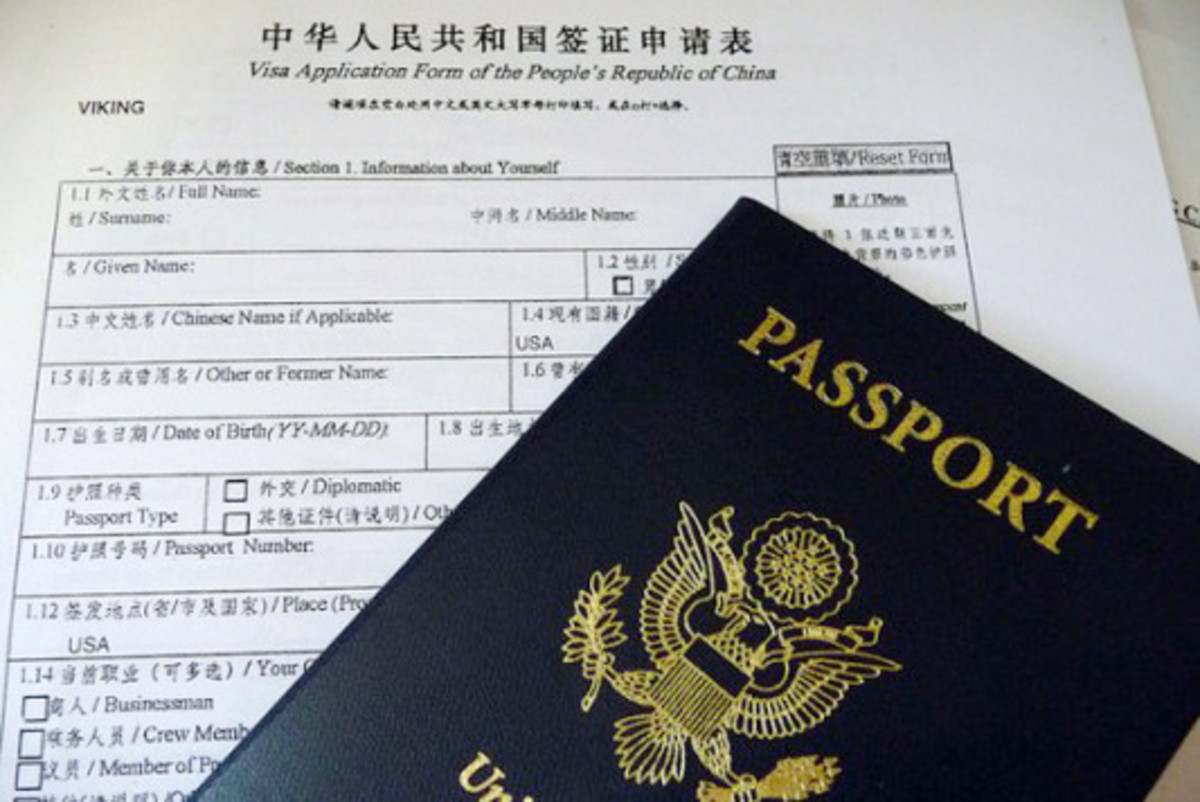 Which Visa Do I Need To Live And Work In China?