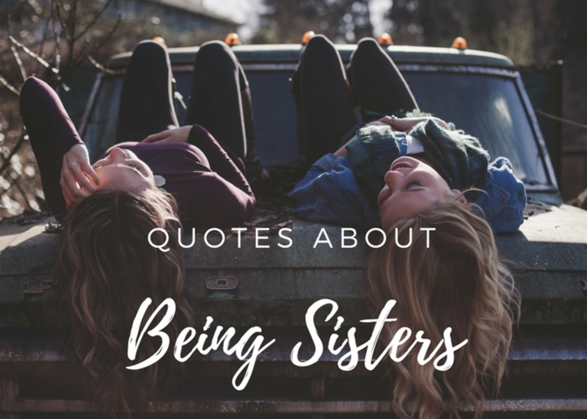 Sayings And Quotes About Sisters Holidappy