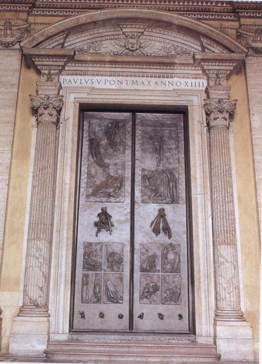 The Door of Death - St. Peter's Basilica, Rome