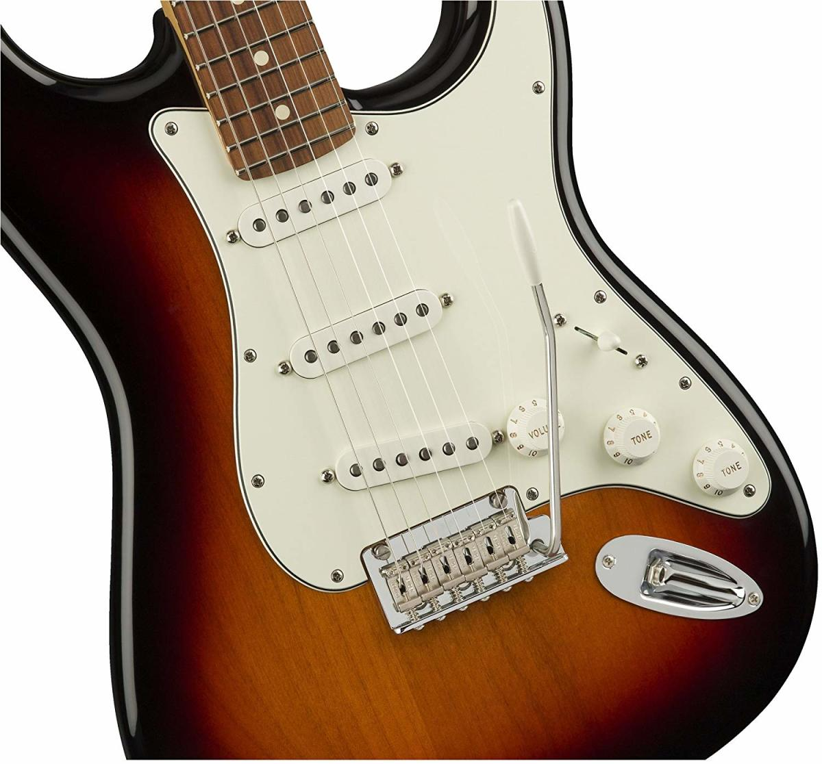 The Fender Player Stratocaster is an affordable alternative to the Fender Stratocaster.